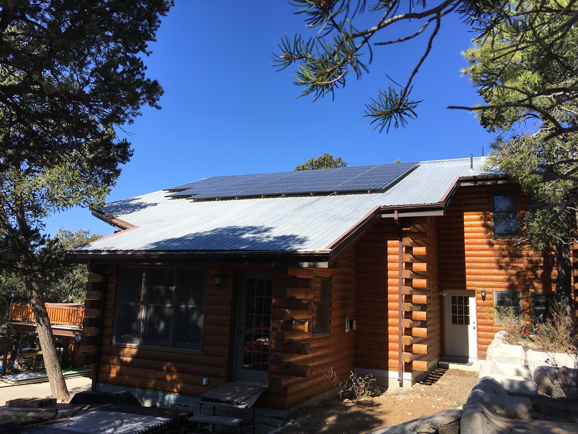 12.6kw solar system installation in Albuquerque